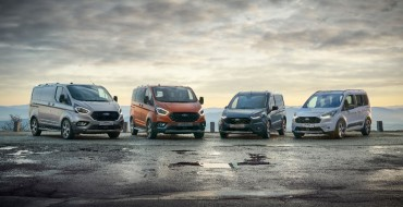 Ford Debuts Trail and Active Models for Transit, Tourneo