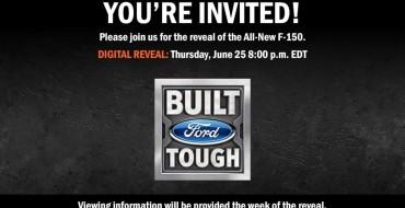 2021 Ford F-150 Digital Reveal Set for June 25