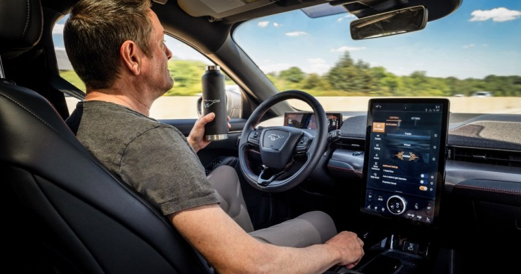 2021 Ford Mustang Mach-E Goes Hands-Free