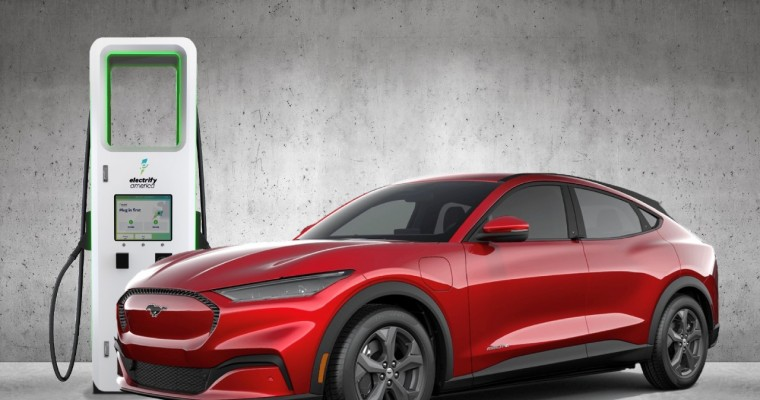 Mustang Mach-E Customers Get Free Electrify America Fast-Charging