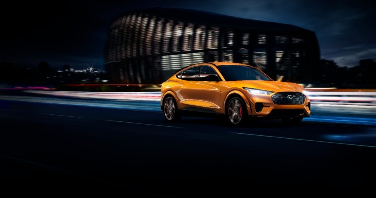 2021 Ford Mustang Mach-E GT Gets Hot Cyber Orange Color