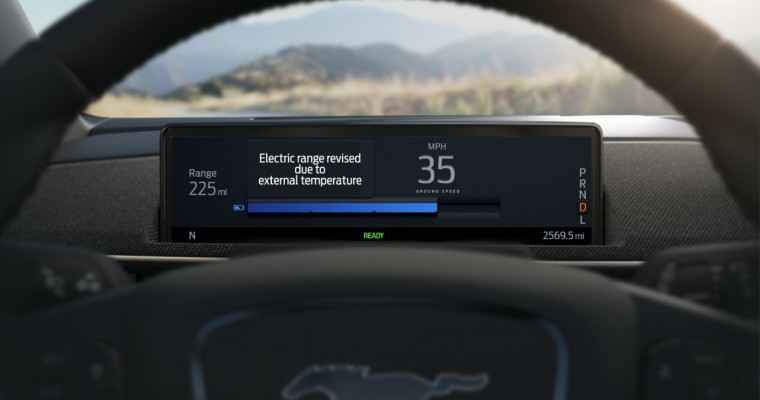 Ford Mustang Mach-E Offers Intelligent Range Feature