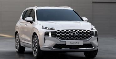 Hyundai Reveals Redesigned 2021 Santa Fe