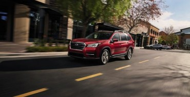 2021 Subaru Ascent Scores IIHS Top Safety Pick+
