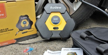 Review: Audew Portable Air Compressor Inflates Your Car's Tires on the Go