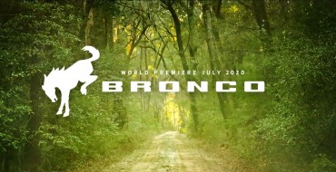 Ford Moves Bronco Reveal Date to July 13