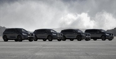 Lincoln Extends Monochromatic Package Across SUV Lineup