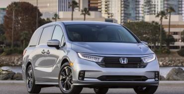 Restyled 2021 Honda Odyssey Starts at $31,790