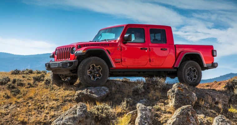 Jeep Introduces EcoDiesel V6 for 2021 Gladiator