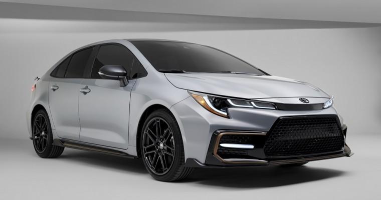 Toyota Launches 2021 Corolla Apex Edition