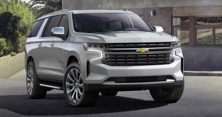 2021 Chevy Suburban Officially Enters Production