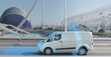 Ford Transit Custom PHEV Getting Geofencing Module
