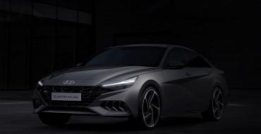 Hyundai Offers Glimpse of Elantra N Line Sport Sedan