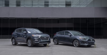 Hyundai Tucson, Veloster No. 1 in J.D. Power Initial Quality Study