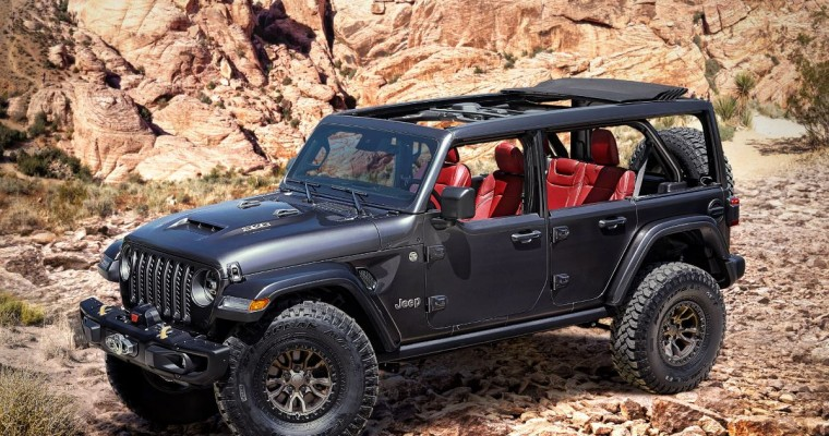 Jeep Wrangler Rubicon 392 Concept Boasts V8 Engine