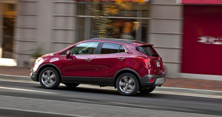Buick Encore Among 'Best Choice' SUVs for Teen Drivers