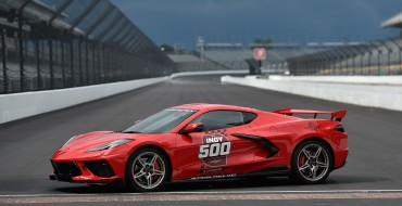 Corvette Stingray to Serve as the Official Pace Car at Indy 500