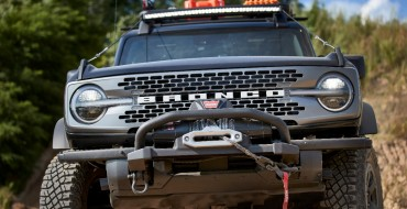 Ford Shows Off Bronco Adventure Concepts