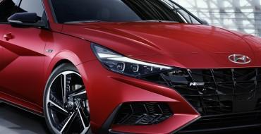 Hyundai Introduces Sporty 2021 Elantra N Line