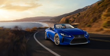2021 Lexus LC 500 Convertible Set to Debut in Canada