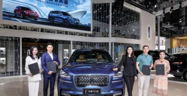 Lincoln Shows Out at 2020 Chengdu Motor Show