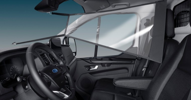 Ford Selling Protective Shields for Vans in Europe
