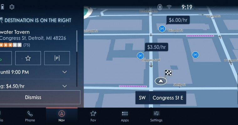Ford SYNC 4 Uses INRIX to Help You Save Bucks