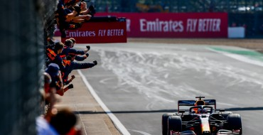Max Verstappen Wins the 70th Anniversary Grand Prix!