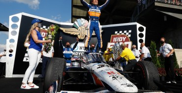 Sato Wins for Honda at Indy 500