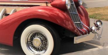 Whitewall Tires: Why the White Stripe?