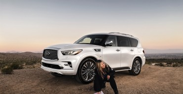 INFINITI QX80 Makes Its Rebelle Rally Debut