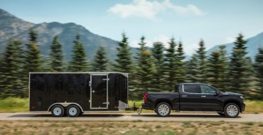2021 Chevrolet Silverado 1500 Gets Towing Boost