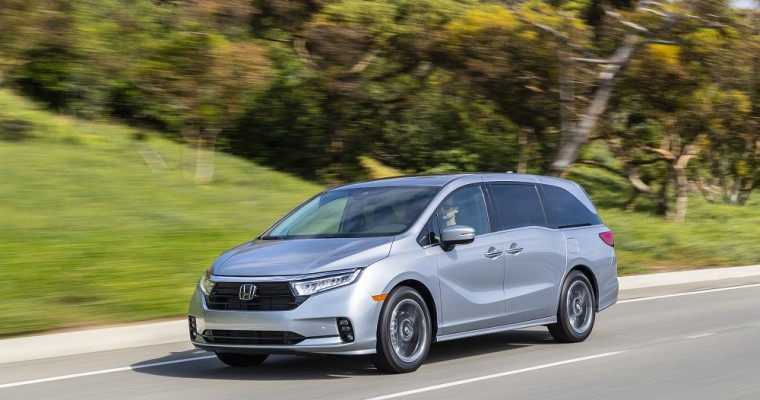 2021 Honda Odyssey First Minivan to Earn 2020 Top Safety Pick+ Rating