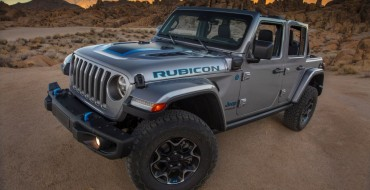 Green Car Journal Honors 2021 Jeep Wrangler 4xe