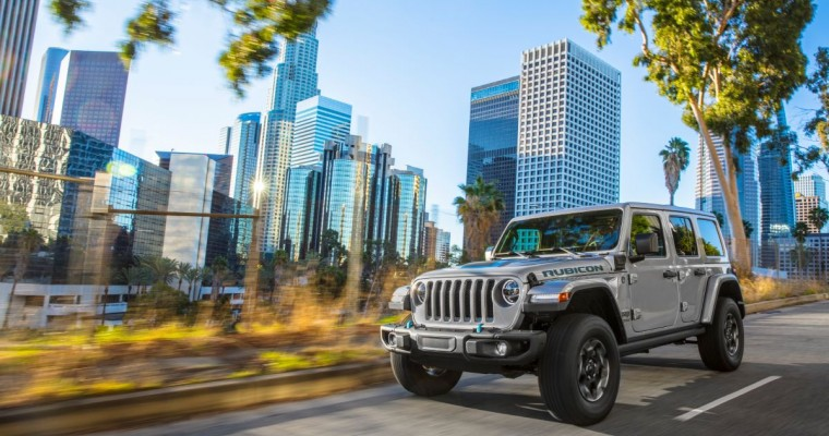 2021 Jeep Wrangler 4xe Earns Tech Award