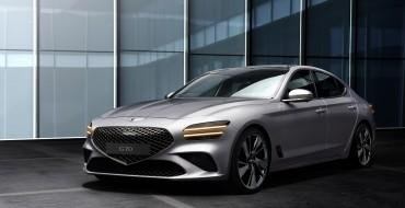 2022 Genesis G70 Gets Fresh New Look