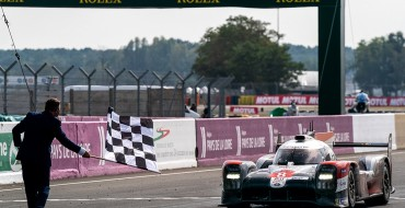 Toyota Makes it 3 in a Row at Le Mans