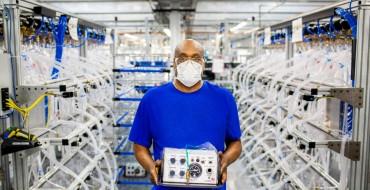 Ford Builds 50,000th Model A-E Ventilator