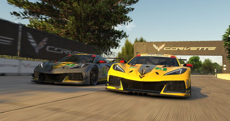 Corvette C8.R Makes its iRacing Debut