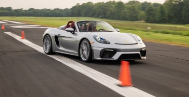 Porsche Gets Guinness World Record for Driving Around Bunch of Cones