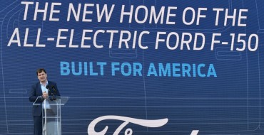 All-Electric F-150 Production Starts Mid-2022