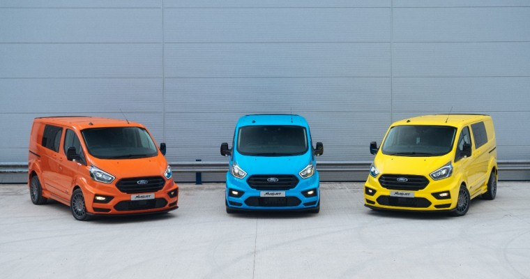 Crazy Colorful Ford MS-RT Transit Vans Perfect for Showoffs