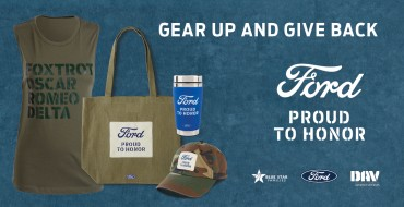"""Ford """"Proud to Honor"""" Merch Sales Benefit Vets"""