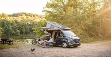 Ford Transit Nugget Plus Gets New Tilt Roof