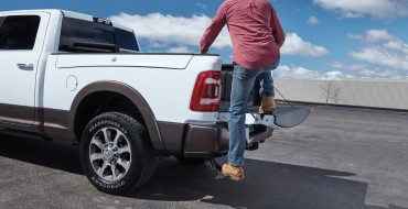 Ram 1500 Is Available with New Center-Mounted Bed Step