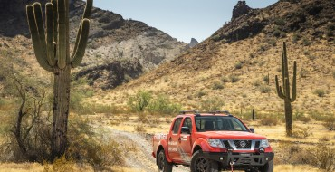 Nissan Debuts New Off-Road Parts at Rebelle Rally