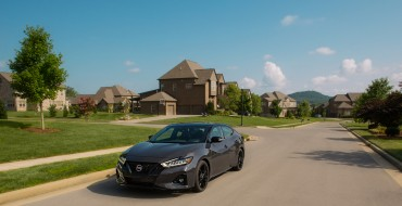 Nissan Maxima Named Finalist for Best Large Cars for Families
