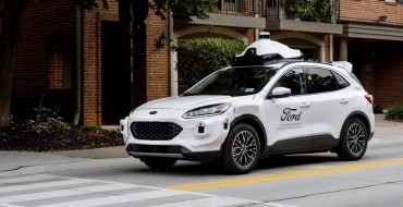 Ford Reveals Self-Driving Escape Hybrid Test Vehicle