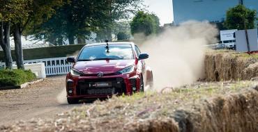 New Toyota GR Yaris Debuts at Goodwood Speedweek