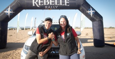 Mitsubishi and Record the Journey Excel in Rebelle Rally